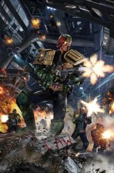 IDW Judge Dredd: Toxic #2 by uncannyknack