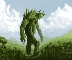 Colossus of Life by Kubeen