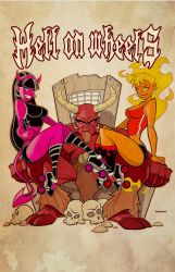 Hell on Wheels by scupbucket
