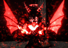 (MMD BATIM) Alice's Satanic Power by DrStinger