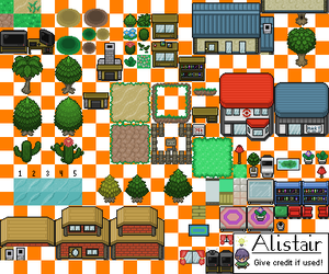 Tileset Number Whatever by TheDeadHeroAlistair