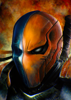 Deathstroke by junkome