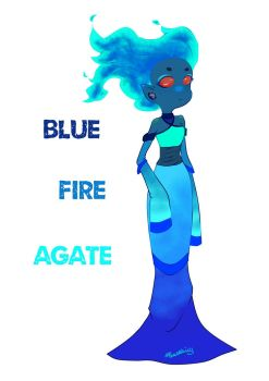 Bluefire Agate_request by yaozhim