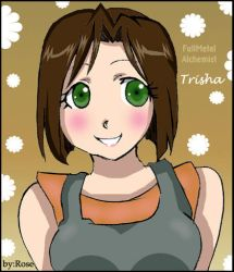 Young Trisha by rose123321123