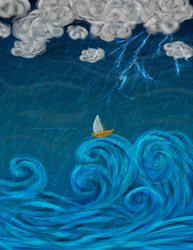 Scary Weather Illustration by Design-Maker