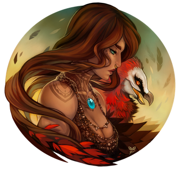 Wildfire - Commission by clover-teapot
