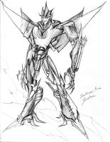 Sunstrom Transformers Prime by winddragon24