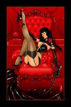 Queen of Pin-Ups by Franchesco