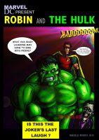 ROBIN AND THE HULK by masuros
