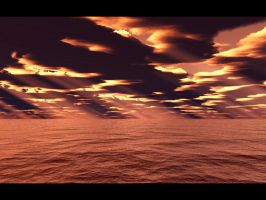 Ocean Rays - Red by furryphotos