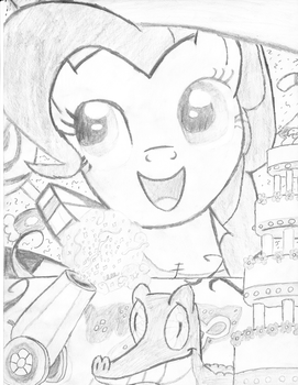 Pinkie Pie (Commander PuddingHead) by crown1995