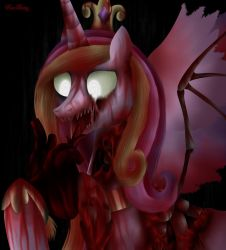 Zombie Cadance by Rose-Beuty