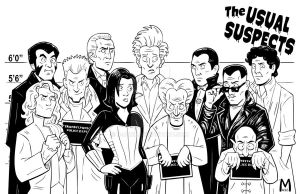 The usual Suspects -Vamps B/W by b-maze