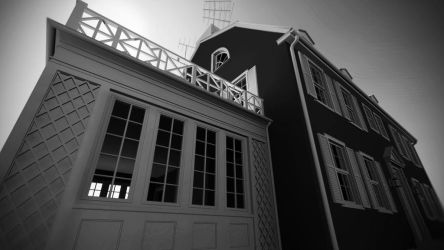 Amityville Horror House Exterior by metonymic