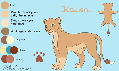 Kaisa - contest entry by M-WingedLioness