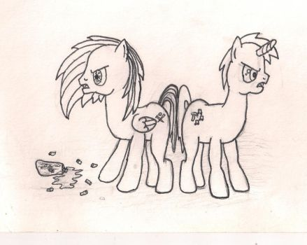 Commision Mlp Zombie RP (what I've done so far) by Dashie4ever101