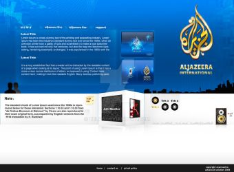Al Jazeera Website by Telpo