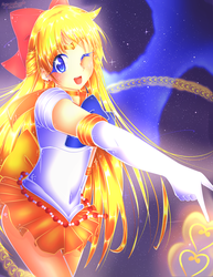 Sailor Venus (SPEEDPAINT) by MysterionRises6