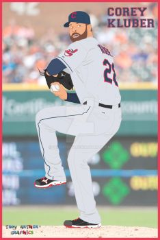Cleveland Indians - Corey Kluber by sixertroy