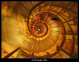 Arc De Triomphe - Stairs II by landfill