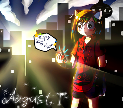 Early morning of August 1st :gif: by Spade-N