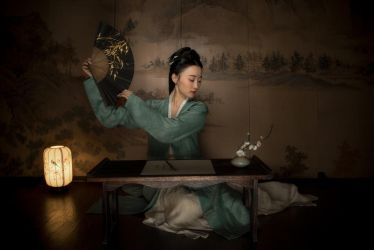 Young Chinese lady by 4618799