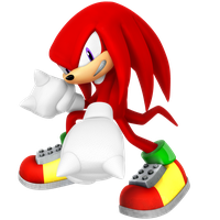 Knuckles (Angry) 2017 Legacy Render by Nibroc-Rock