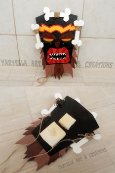 Uka Uka mask - wood replica 1:1 by MithriLady