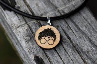 Harry Potter necklace by Pia-CZ
