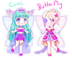 OPEN! 2/2 [Adopt Batch] November Fairy Adopts! by Kawaii-Says-Meow