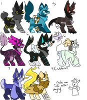 OPEN $1 PAYPAL ADOPTS by Yoozie