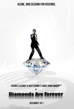 What if ? George Lazenby in Diamonds Are Forever by ChokaVonChicken