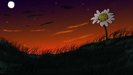 Daisy in the Dusk by realizationalism