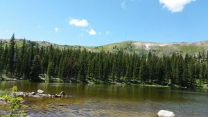 View Of Continental Divide Trail by Slicenndice