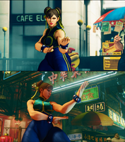 Chun Li Alpha V2(in process of updating to 2.0) by Dusdeus