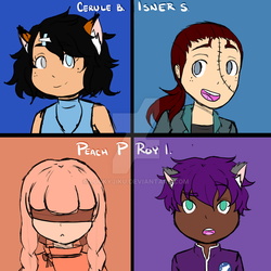 Team CSPR Chibis by LuckyJiku