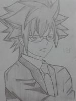 loki or leo of fairy tail by doodlingsketch