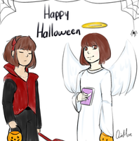 The Angel and The Devil by QuinMore