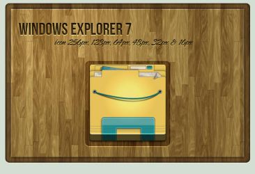 Windows Explorer 7 Icon by Schulerr