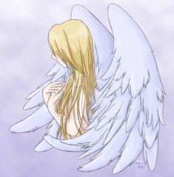 Sad Angel by Meru-TPoD