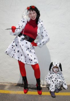 Cruella and Purdita Cosplay by JoBeeOne