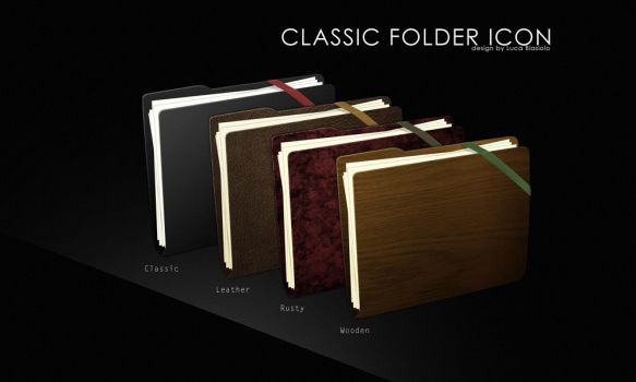 classic folder icon by bisiobisio
