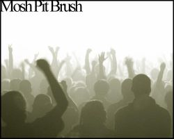Mosh Pit Brush by MannequinStock