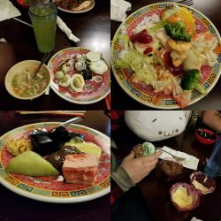 My birthday food I ate at New China Buffet by 8TeamFriends8
