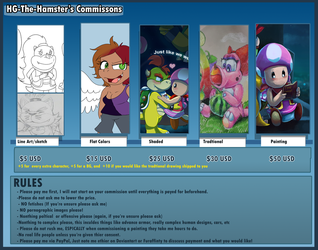 Commission sheet 2018 by HG-The-Hamster