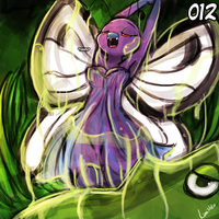 (Pokemon National Dex Project) - 012 Butterfree by luminaura