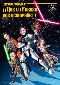 Star Wars Family by Orestes-Sobek