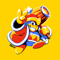 Kirby's Dream Land - King DeDeDe by Kaigetsudo