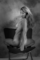 Her Chair Back Upright by NaKhym