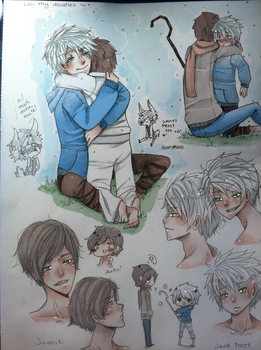 JACK FROST DOODLES by AokiBrooks